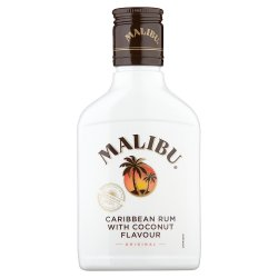 Malibu Original White Rum with Coconut Flavour 20cl