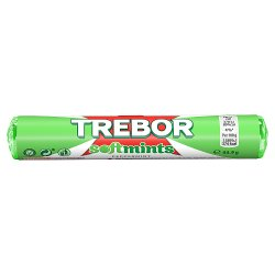 Trebor Softmints Peppermint Mints Roll 44.9g