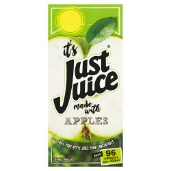 Just Juice 100% Pure Apple Juice from Concentrate 200ml