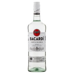 Bacardí Carta Blanca Superior White Rum 1L