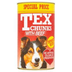 Tex Chunks with Beef 1.2kg