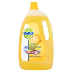 Dettol Anti-Bacterial Multi Action Cleaner Complete Clean Citrus Zest 4L
