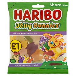 HARIBO Jelly Bunnies Bag 160g £1PM