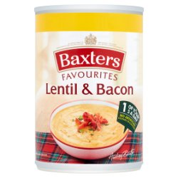 Baxters Favourites Lentil & Bacon 400g