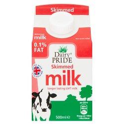Dairy Pride Skimmed UHT Milk 500ml