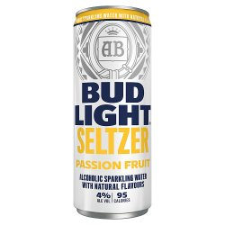 Bud Light Seltzer Passion Fruit Can 300ml