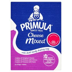 Primula Cheese Mixed 6 x 150g