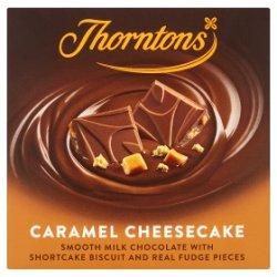 Thorntons Caramel Cheesecake Chocolate Block 90g