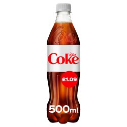 Diet Coke 24 x 500ml PM £1.09