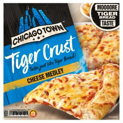 Chicago Town Tiger Crust Cheese Medley Pizza 305g