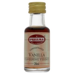 Preema Concentrated Vanilla Flavouring Essence 28ml