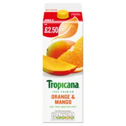 Tropicana Orange & Mango Juice PMP 850ml