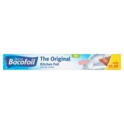 Bacofoil The Original Kitchen Foil 30cm x 5m £1.39 PMP