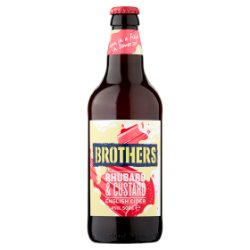Brothers Rhubarb & Custard English Cider 500ml