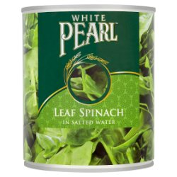White Pearl Leaf Spinach in Salted Water 765g