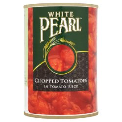 White Pearl Chopped Tomatoes in Tomato Juice 400g