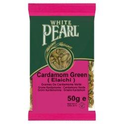 White Pearl Cardamom Green 50g