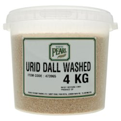 White Pearl Urid Dall Washed 4kg