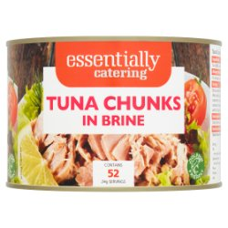 Essentially Catering Tuna Chunks in Brine 1705g