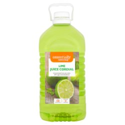 Essentially Catering Lime Juice Cordial 5L