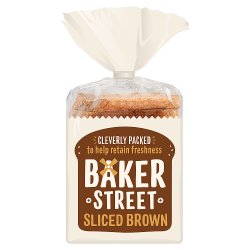 Baker Street Sliced Brown 600g