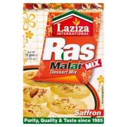 Laziza International Ras Malai Saffron Dessert Mix 75g