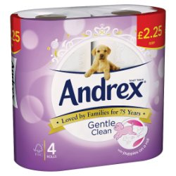 Andrex Gentle Clean PM £2.25
