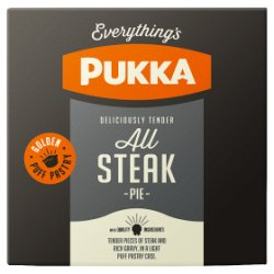 Pukka All Steak Pies