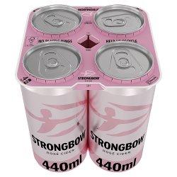 Strongbow Rosé Cider 4 x 440ml