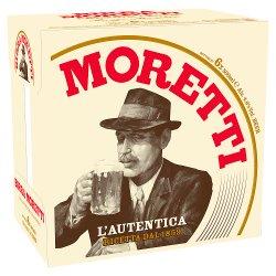 Birra Moretti Premium Lager 6 x 500ml