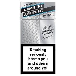 Lambert & Butler King Size Silver