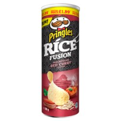 Pringles Rice Malaysian Red Curry PM £1.99