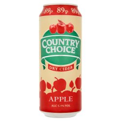 Country Choice Apple Dry Cider 500ml