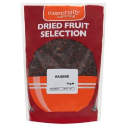 Essentially Catering Dried Fruit Selection Raisins 3kg