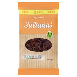 Best-One Sultanas 375g