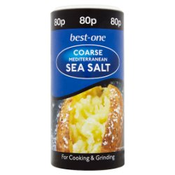 Best-One Coarse Mediterranean Sea Salt 350g