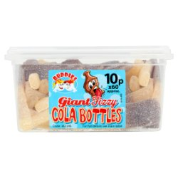 Buddies Giant Fizzy Cola Bottles Cola Flavour Sweets