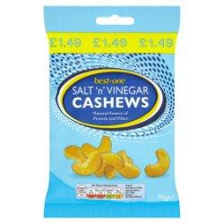 Best-One Salt 'n' Vinegar Cashews 70g