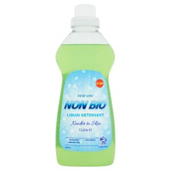 Best-One Non Bio Liquid Detergent 1 Litre