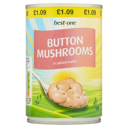 Best-One Button Mushrooms in Salted Water 290g