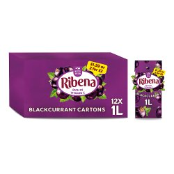 Ribena Blackcurrant 1L £1.29 PMP