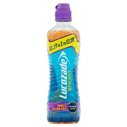 Lucozade Sport Mango & Passion Fruit PMP 500ml £1.19 or 2 for £2.20