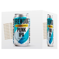 BrewDog Punk Alcohol Free IPA 4 x 330ml