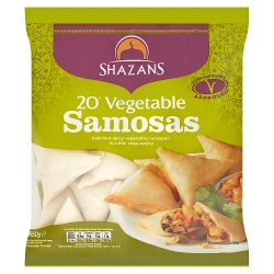 Shazans 20 Vegetable Samosas 650g