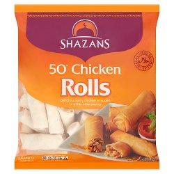 Shazans 50 Chicken Rolls 1650g