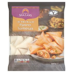 Shazans 18 Premium Paneer Samosas 580g