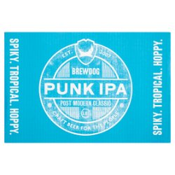 BrewDog Punk IPA 6 x 4 x 330ml Can