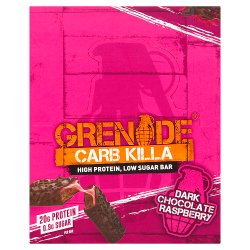 Grenade Carb Killa Dark Chocolate Raspberry 12 x 60g