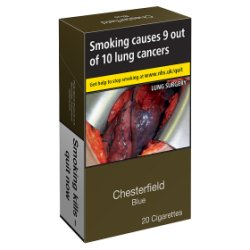 Chesterfield Blue 20 Cigarettes