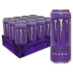 Monster Ultra Violet Energy Drink 12 x 500ml PM £1.29